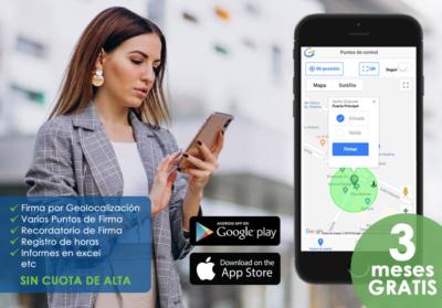 Geofirma - La App para el control de firmas y horas de tu empresa
